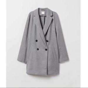 H&M Gray Peacoat